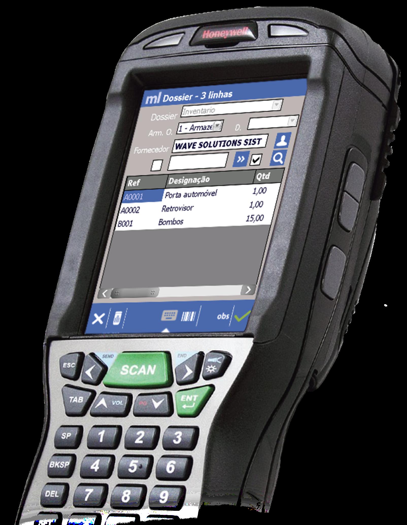 Mobile Logistic aplicação - Wave Solutions