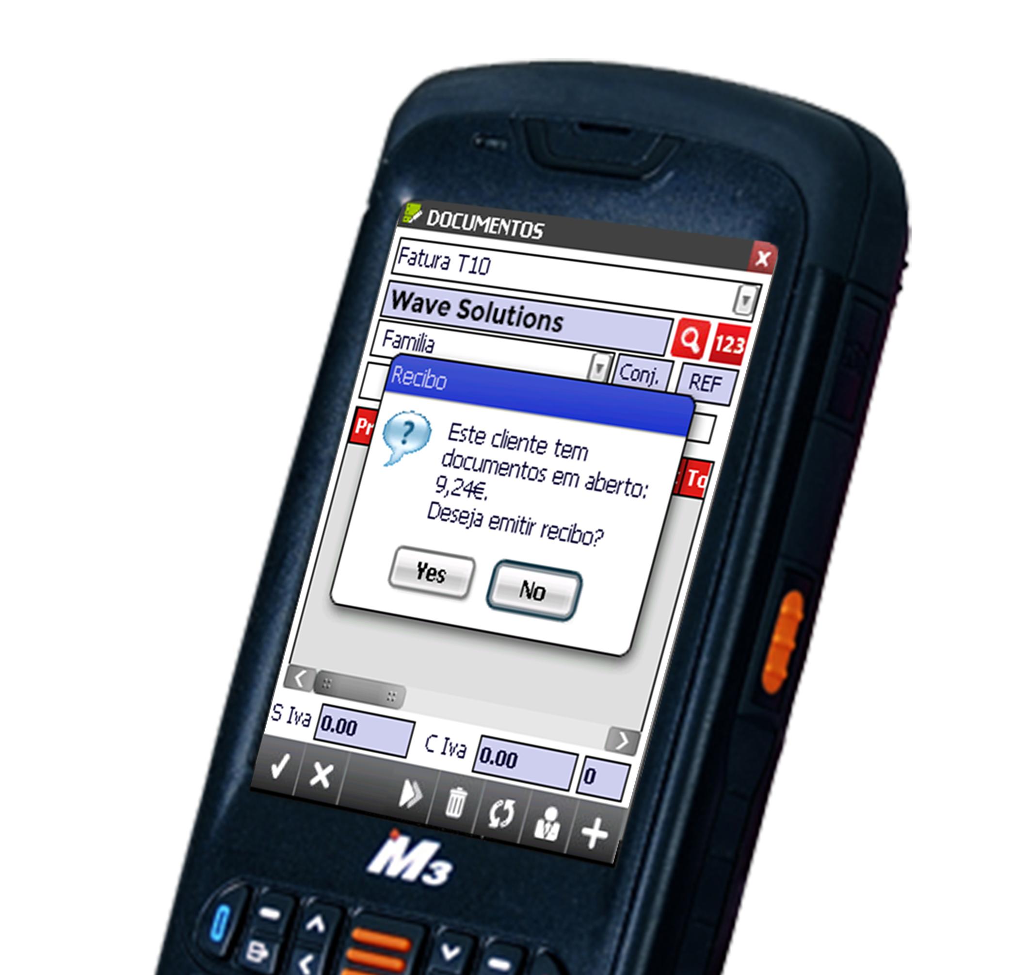 Mobile Sales Aplicação - Wave Solutions