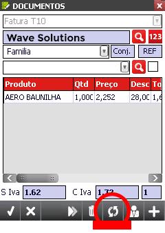 Mobile Sales ecrãs - Wave Solutions