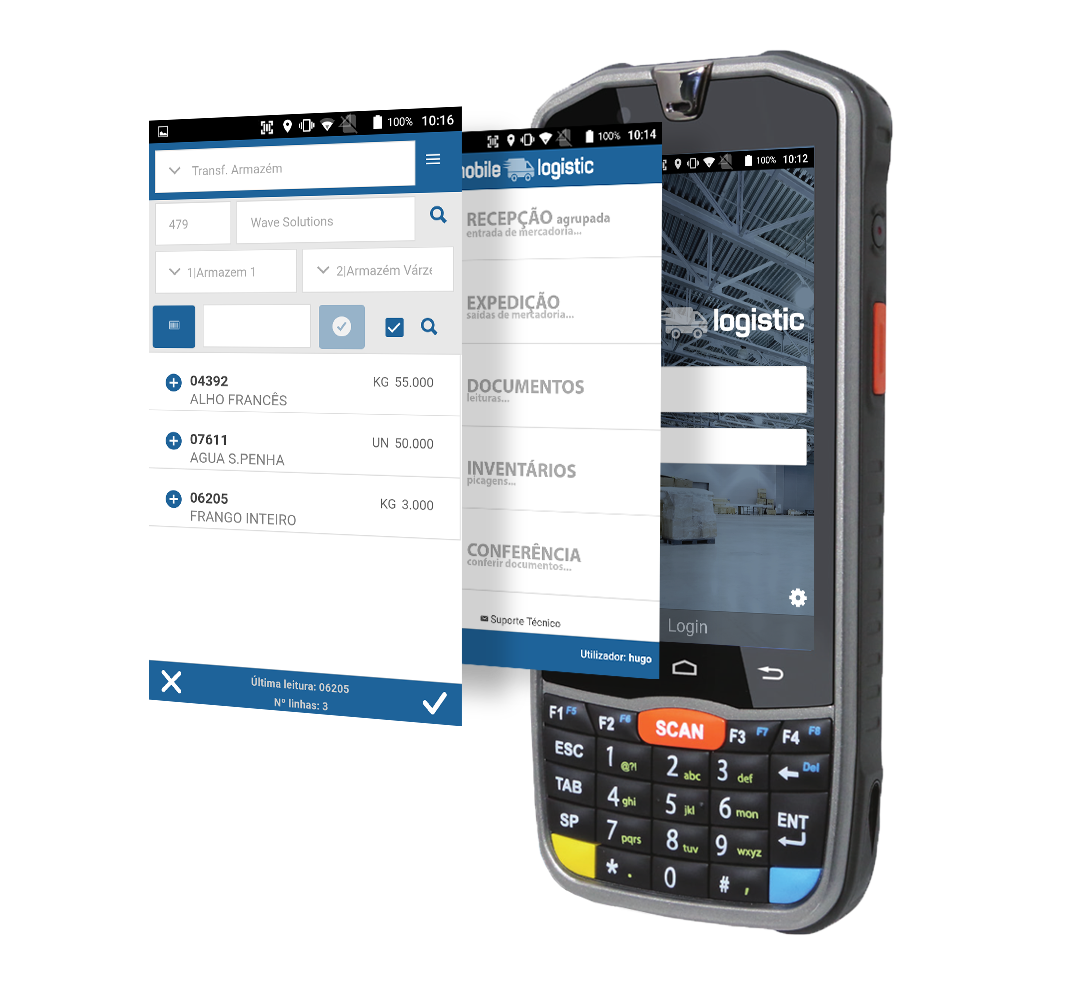 Mobile Logistic Android | Produtos Wave Solutions